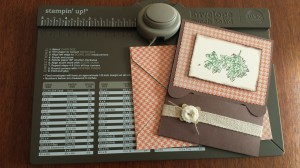 Envelope Punch Board Gift Card Holder & Envelope