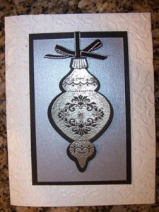 Flash Card – Silver Ornament