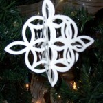 Lattice Die Ornament