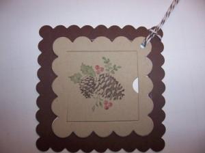 Peekaboo Frames Gift Tag