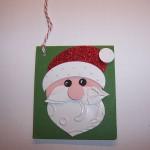 Santa Face Gift Tags