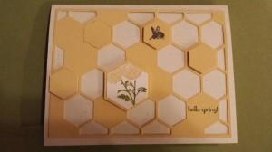 Springtime Hello Card
