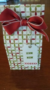 Stamp a Tag and Gift Bag