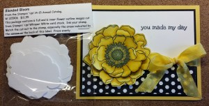 Stamp Out Fussy Cutting - Blended Blooms