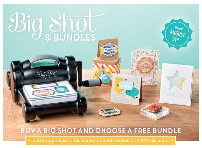 August 2014 Big Shot Promotion