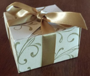Gift Box Punch Board