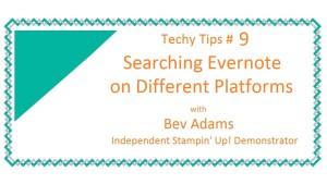 Techy Tips 9