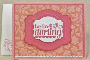 Hello Darling Double Embossed (2)