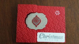 Christmas Wishes Flip Card