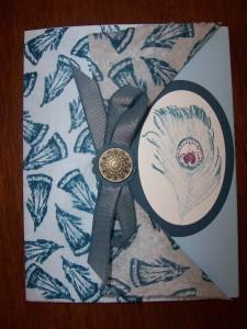 Fine Feathers Peek Card