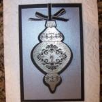 Flash Card – Silver Ornament