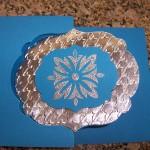 Flip Flop Card Embossed Aluminum Foil