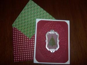 Holiday Frame Card