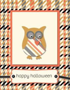 MDS - Halloween Owl