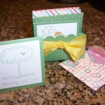 Mini Cards and Scalloped Square Die Box