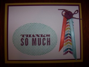 Oh Hello Thank You Card