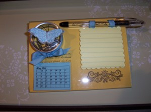 Photo Frame Desk Set