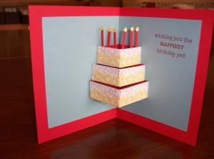 Pop Up Layer Cake