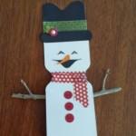 Snowman Favor