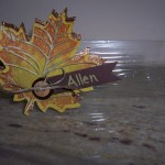 Wonderfall & Autumn Accents Place Tag