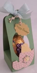 Easy Peeps Easter Egg Throne