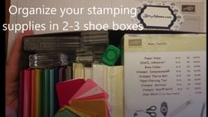 All the essential stamping supplies